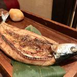 魚酒場ピン - 秋刀魚の肝焼き