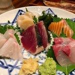 魚酒場ピン - お刺身五点盛り(2人前)