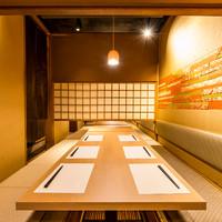 上質な宴会個室席…会社宴会や飲み会に最適!