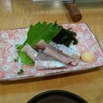 花・華 - いわし造り300円