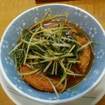 花・華 - 平天と水菜煮250円