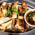 タイ東北モーラム酒店 - ガイヤーン(鶏の半身グリル)