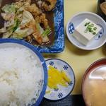 いけ乃 - 料理写真:ホルモン定食