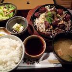 922539 - 和牛サイコロステーキ定食(880円)