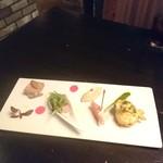 Firenze - 前菜もオシャレ~♪