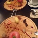 FIRENZE - リンゴのムース可愛い!美味しかった~( ☆∀☆)
