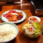 上野 太昌園 - 今回も「Bランチ」を注文しました。
