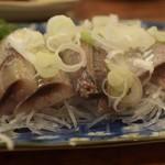 魚三酒場 - 鰯刺し