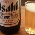 魚三酒場 - 瓶ビール