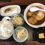 かわはら食堂 - 料理写真:日替り、昼の定食@650