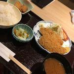 92205799 - 活あじフライ定食900円(外税)