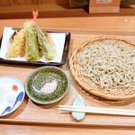 せんり - 天ざる蕎麦