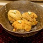 鮨 鈴木 - うに食べ比べ