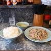 清華園 - 料理写真:豚ともやし炒め定食