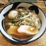 つけめんブータン - 料理写真:煮干しそば  味玉トッピング