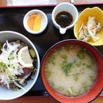 海の駅ほそしま - かつお丼セット1080円
