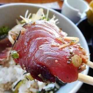 海の駅ほそしま - 料理写真:かつおアップ