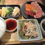 焼肉明成館 - Bスペシャルランチ¥1,280