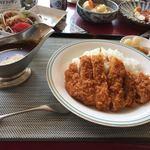 季美の森ゴルフ倶楽部 - 料理写真:カツカレー