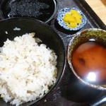 92214734 - 蕎麦仕立てのとろろ飯