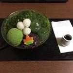 東山茶寮 - 特製かき氷