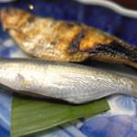 浜吉 - ままかり 焼きと酢漬け