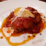 BISTRO SUZUKI - 豚肉のトマト煮込み(1300円)