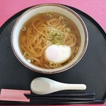 旬彩和食 遊仙 - 料理写真:温玉うどん@500