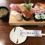 寿司処やぐら - 料理写真:にぎり 竹