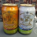 ニューデイズミニ - ドリンク写真:軽井沢ビール。
