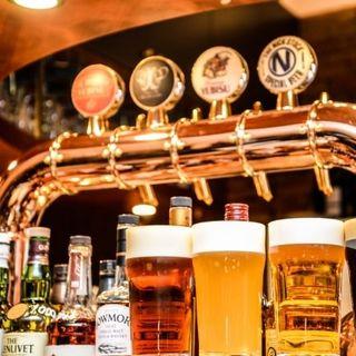 ビールやワイン、カクテルなどドリンクの種類も豊富♪