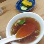 92219003 - スープとお新香