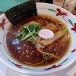 92219357 - 醤油ラーメン・濃口醤油・手揉み太麺(780円)