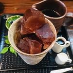 茶楽家 われもこう - 料理写真:アイスコーヒー¥430(税込)チョコ付き