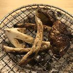 旬菜 おぐら家 - サマー松茸炭火焼