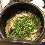 旬菜 おぐら家 - 新秋刀魚と新生姜の炊き込みご飯