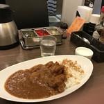 パルフェ - トマトチキンカレー、並で500円なんですよ!(2018.9.5)