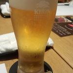 和洋ダイニング ゆきあかり - 生ビール
