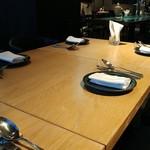 ROTISSERIE★BLUE - テーブルの図