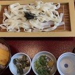 92225089 - 麺道楽☆冷きしめん、牛すじ丼