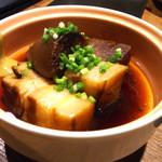 なにわの台所 いたち - オーガニック大根と長崎ポークの角煮。ハーフサイズ。
