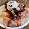 拉麺アイオイ - 料理写真:ランチのミニチャーシュー丼150円