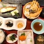 小魚 阿も珍 - 日替わり、銀ヒラスの西京焼き