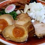 拉麺アイオイ - 得製にぼしラーメン1,140円