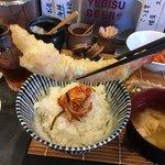 92226937 - 上品な海老の天ぷら。アップ。