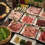 焼肉酒房 元 - 韓流焼肉コース4900円