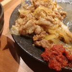 Nikunoyamakin - 辛味噌追加