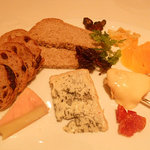ル・コフレ - チーズ盛合せ