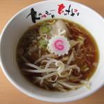 河京ラーメン館 - 煮干しラーメン