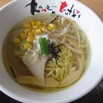 河京ラーメン館 - 鱈出汁白醤油そば